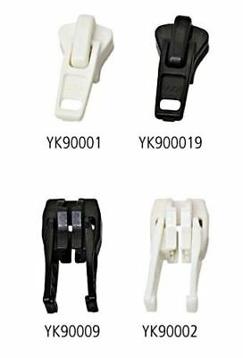 YKK x10 pcs Single Slider black for No.9 AUTOLOCK