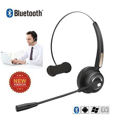Call Center Headset Microphone Wireless Bluetooth Car Office Business Headphone