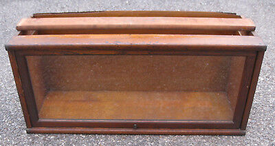 OAK GLOBE WERNICKE SECTION barrister bookcase D 12 1/4 198 3189 section lawyers