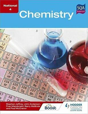National 4 Chemistry by Anderson, John Book The Cheap Fast Free Post