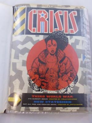Rare Collection 2000AD Presents Crisis Magazines Issues 1 -23 in display folder