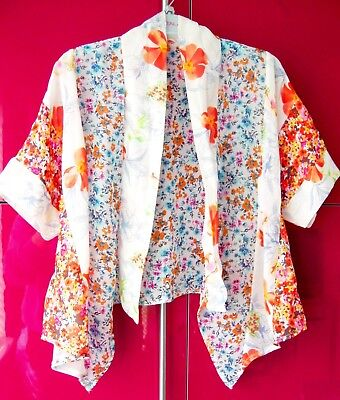 Next Girl Boho Kimono Jacket 7 Yrs 6-7 Holiday Cardigan Party Coat Top Summer
