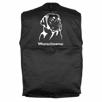 MIL-TEC Hundesport Outdoor Weste Labrador inkl. Wunschname