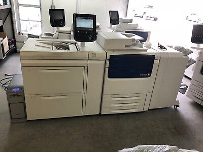 Xerox C75 Press Production Printer With 533K Copies