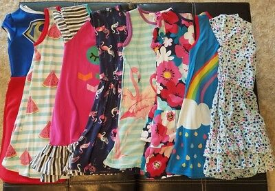 Girls Summer Dresses Size 7-8 Lot of 8