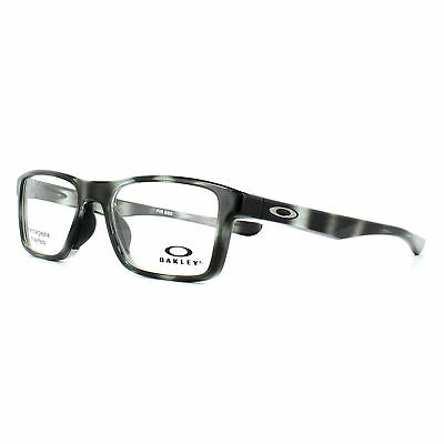 90094771caa40 Oakley Glasses Frames Fin Box Trubridge OX8108-04 Polished Grey Tortoise  55mm