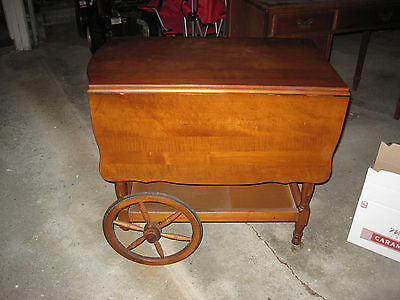 Vintage Wooden Tea Cart Local Pickup Only Great Condition Tea Trolley Bar