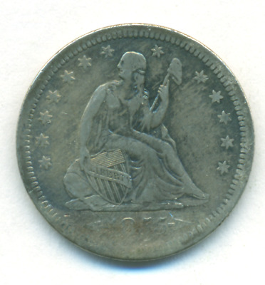 1855 With Arrows Seated Quarter