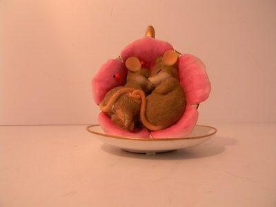 """ENESCO Charming Tails """"Tea-Lightful Moments In The Rose Garden #1302"""