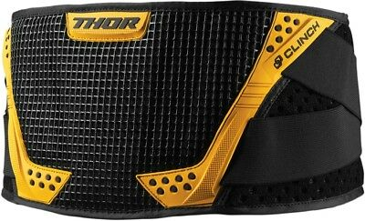 Thor Clinch Youth Kidney Belt Black/Yellow