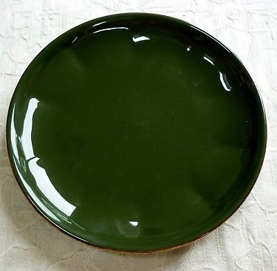 """APILCO GREEN & Gold Side Plate 6.5"""" - £7.50   PicClick UK"""
