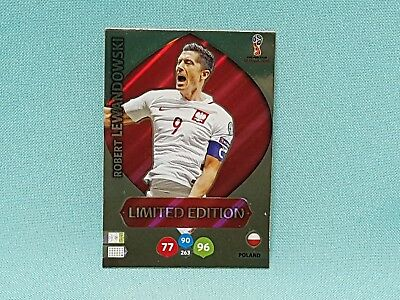Panini Adrenalyn World Cup Russia 2018 WM Lewandowski - Limited Edition