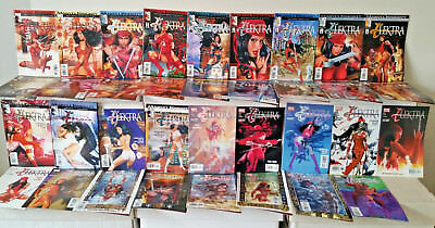 Elektra #1 to 35 Complete Marvel Knights Comics Lot Brian Michael Bendis NM
