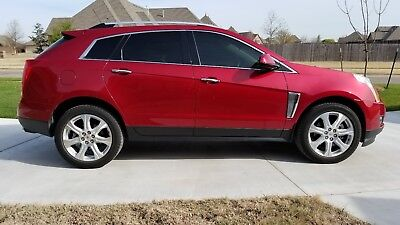2016 Cadillac SRX Performance 2016 Red Cadillac SRX Performance Collection Sport Utility 4 Dr