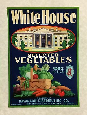 ca1930s Chromolithograph American Advertising Sign White House Brand