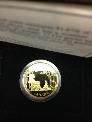 1994 Canada 1/2 oz Proof Gold $200 Anne of Green Gables #PAPPS66741 w/Box