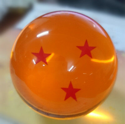 Dragonball Z Acrylic Replica 6-Stars Crystal Ball Anime Cosplay Props In Box