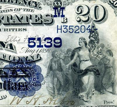 HGR FRIDAY 1882 $20 Medina OH Date Back ((X-RARE 2 Known)) Near UNCIRCULATED