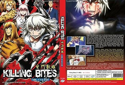 ANIME DVD~Killing Bites(1-12End)English subtitle&All region FREE SHIPPING+GIFT