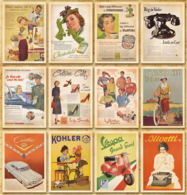 Lot of 32 Postcard Vintage Slogan Photo History Album Picture Poster Post Cards