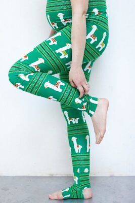 Maternity leggings - Llama design