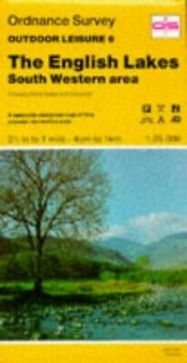 Outdoor Leisure Maps: English Lakes - So... by Ordnance Survey Sheet map, folded