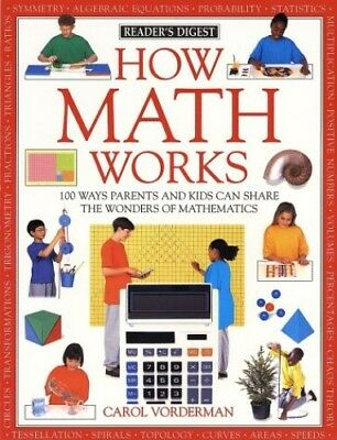 How Math Works (How It Works) by Vorderman, Carol Book The Cheap Fast Free Post