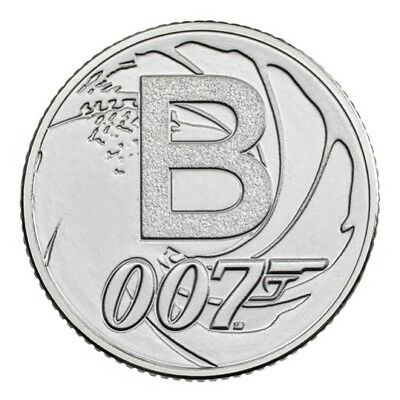 2018 UK The Great British Coin Hunt A-Z Uncirculated - B: Bond ... James Bond