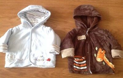Little boys spring coats M&S 6-9 mnths and 9-12 mnths