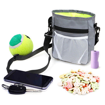 Puppy Pet Dog Obedience Training Treat Bag Feed Bait Food Snack Pouch Belt Bag