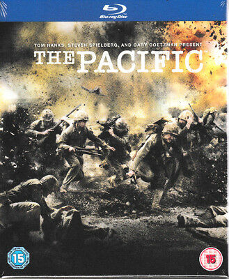 The Pacific (Blu-ray, 2010, 6-Disc Set, Box Set) - Brand New & Sealed