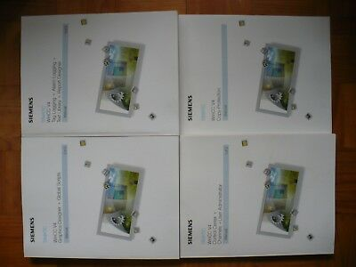 Siemens Simatic WinCC V4 Graphics, Scripts, User, Alarm and Tagging Manuals ONLY