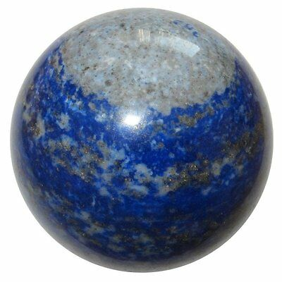 50mm Natural Blue Lapis Lazuli Crystal Ball Healing Sphere Gemstone with Stand