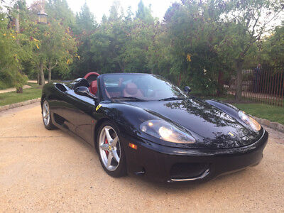 2001 Ferrari 360  6 speed free shipping new clutch major service done investment exotic