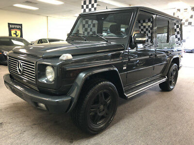 2003 Mercedes-Benz G-Class  free shipping warranty g500 clean carfax 2 owner 4x4 luxury cheap v8 exotic