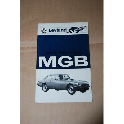 LEYLAND ST SPèECIAL TUNING FOR YOUR MGB 1976 ENGLISH