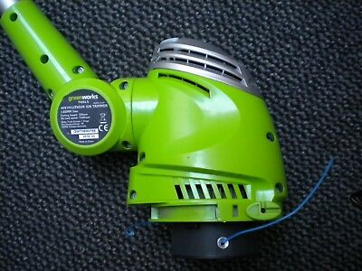 greenworks high power cordless strimmer uses 40 v lithium battery not supplied