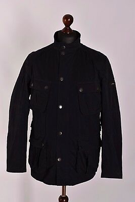 Men's Barbour International Lockseam Casual Field Jacket Size L Genuine