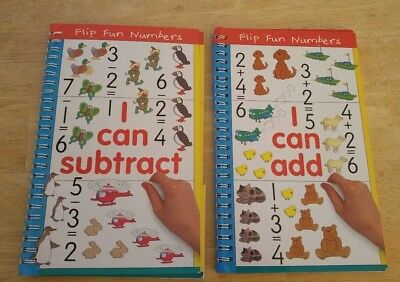 I can subtract & I can add Flip Fun Numbers book