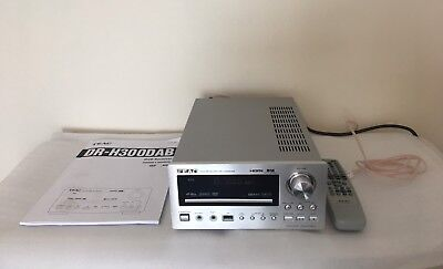 Teac DR-H300DAB CD/DVD/FM/DAB/USB in Silver with Remote, Aerial + Manual