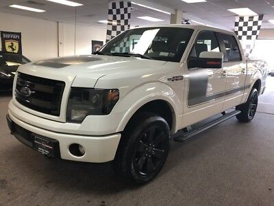 2013 Ford F-150  low mile fx4 free shipping warranty clean carfax 4x4 loaded finance crew cab