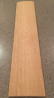 "White Oak Veneer: 1/20"" Thick Cut 4 Sheets (34"" X 6.5"") 6 Sq Ft"