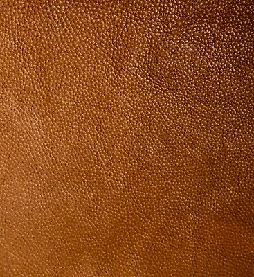 60x80cm HIGH QUALITY LIGHT BROWN VERY SOFT LEATHER PEBBLE GRAIN 2.5mm thick
