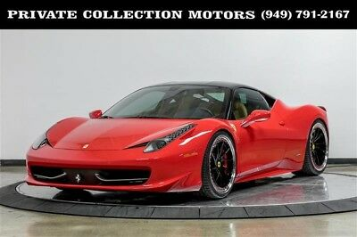 2011 Ferrari 458  2011 Ferrari 458 Italia Clean Carfax 7100 Original Miles Local Trade