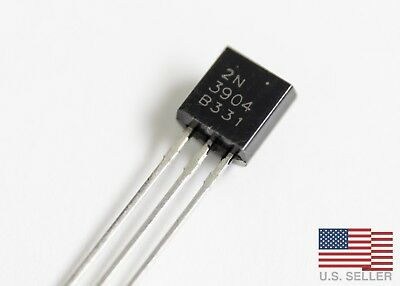 2N3904 NPN Transistor TO-92 - Lots of 50, 100, 200