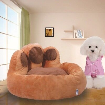 Pet Fang Paw Shaped Luxury Soft Comfy Basket cushion Dog Cat Puppy Pet Bed