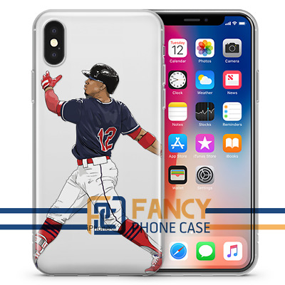 Mr Smile Francisco Lindor Iphone Case For All Iphones Hand Drawn