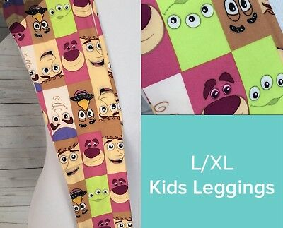 Lularoe Kids Disney Leggings Size L/XL 7-12 Nwt Toy Story  Super Cute