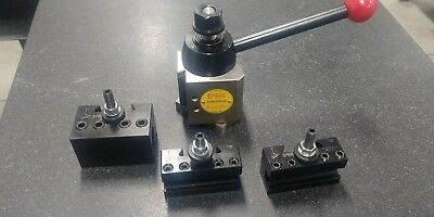 Dorian Tool Lathe Quick Change Tool Post SDN30BXA with Holders