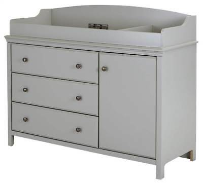 47.5 in. Changing Table in Soft Gray [ID 3495251]